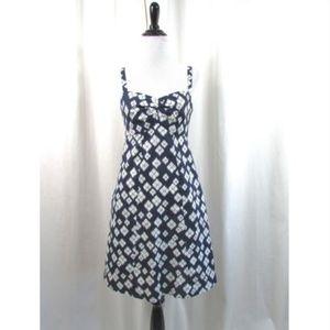 Patagonia IKAT Navy Organic Cotton Hemp Dress